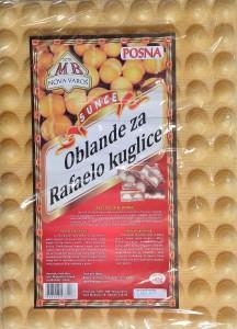 Oblande za rafaelo kuglice- 142 g